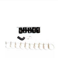 EJ402M101601 | MK4 2.5″ Race FMIC Silicone Hose and Clamp Kit